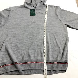 Atlas Shirts - Atlas Mens Hooded Sweater Sz XL Light Grey NWT